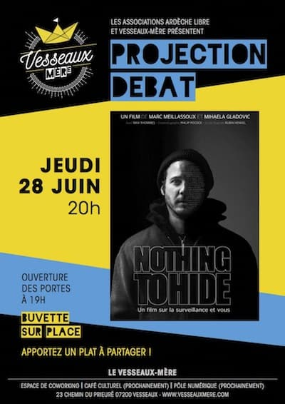 Projection débat film documentaire Nothing to Hide